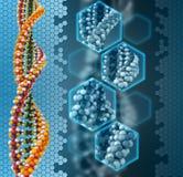 DNA-Analysenkonzept Lizenzfreie Stockfotografie
