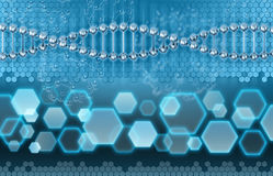 DNA Analysis concept Stock Image