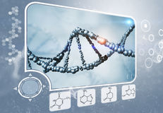 DNA analysis Royalty Free Stock Photos