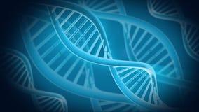 DNA-animatie stock footage