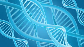 DNA animation stock video footage