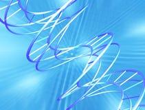 DNA astratto Fotografia Stock Libera da Diritti