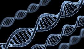DNA astratto Fotografie Stock Libere da Diritti