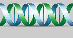 DNA-backgound Lizenzfreie Stockbilder