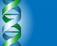 DNA-backgound Lizenzfreie Stockfotos