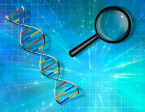 DNA Background Royalty Free Stock Images