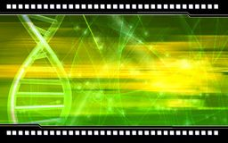 DNA background Stock Images