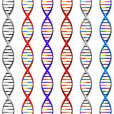DNA Background stock illustration