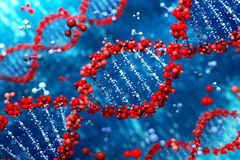 DNA background Royalty Free Stock Photography