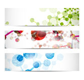 Dna banner royalty free illustration