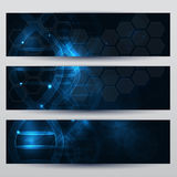 DNA banners Royalty Free Stock Photos