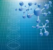 DNA-Baumuster Lizenzfreie Stockfotografie