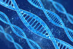 DNA in beautiful background Stock Images