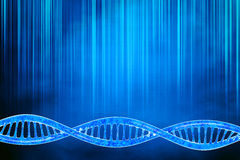 DNA in beautiful background Stock Photo