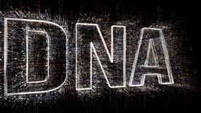 DNA binario di forma di codice macchina di stile della matrice 4k, cambiante cifre zero - una royalty illustrazione gratis