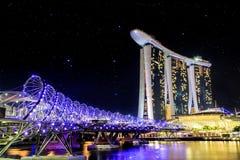 DNA bridge Stock Image