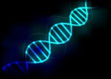 DNA-bundelachtergrond vector illustratie