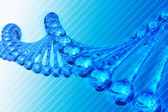 DNA Chain Stock Photography