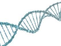 DNA chain. Abstract scientific background. 3D rendering. DNA chain. Abstract scientific background. Beautiful illustraion. Biotechnology, biochemistry, genetics Stock Image