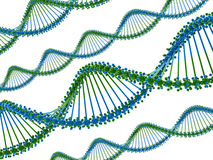 DNA chains Royalty Free Stock Photography