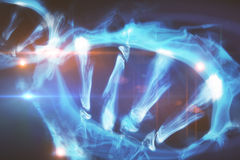 DNA closeup Royalty Free Stock Photography