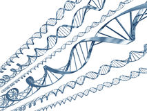 Dna code Stock Image