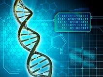 DNA-Code stock abbildung