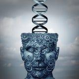 DNA de la máquina Fotografía de archivo