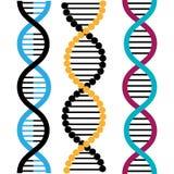 DNA design, vector illustration. Royalty Free Stock Photo