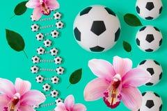 DNA di calcio su fondo blu royalty illustrazione gratis