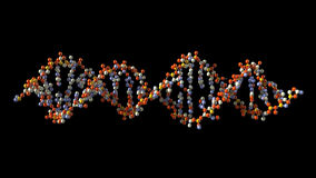 DNA di tornitura illustrazione di stock