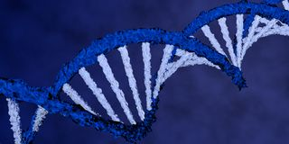 DNA double helix Royalty Free Stock Photo