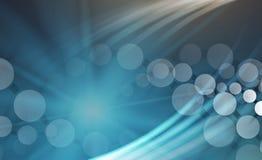 DNA e fondo di tecnologia e medico molecola futuristica Fotografia Stock