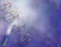 DNA Experiment Royalty Free Stock Images