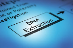 Dna extraction Royalty Free Stock Image