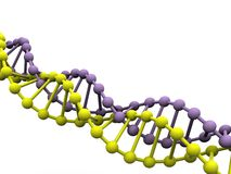 dna-gen Royaltyfria Bilder