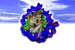 DNA genesis Stock Images