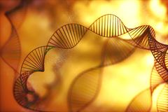 DNA Genetic Code Colorful royalty free stock photography