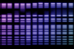 DNA Genetic. Data can be apply for science background Royalty Free Stock Photos