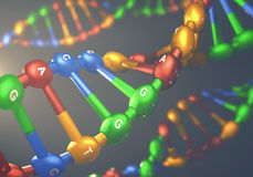 DNA Genetic Engineering Royalty Free Stock Image