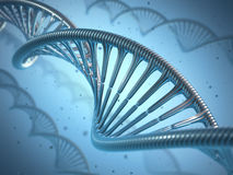 DNA Genetic Engineering Royalty Free Stock Photography