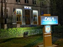 DNA - the headquarters of the national anti-corruption directorate, Romania. DNA - the headquarters of the national anti-corruption directorate, Bucharest royalty free stock photography