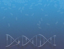 DNA Health Magic Royalty Free Stock Photography