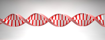 DNA helices cell structure molecule Stock Photos