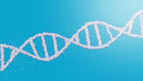 DNA Helix stock footage