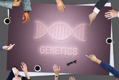 DNA Helix Life Science Graphic Concept stock photography