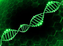 DNA Helix Molecular Background Stock Photo