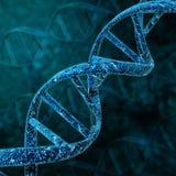 DNA helix struktura Fotografia Stock