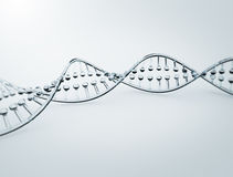 DNA highly detailed 3d model Stock Photos