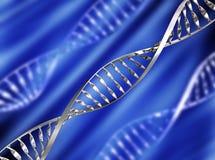 DNA-Hintergrund lizenzfreie abbildung
